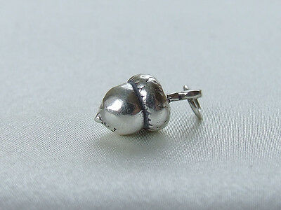 ACORN WICCA 3D PAGAN CHARM 925 STERLING SILVER