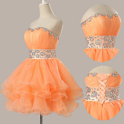 NEW 2015 CHEAP Homecoming Formal Cocktail Party Gowns Evening Short Prom Dresses