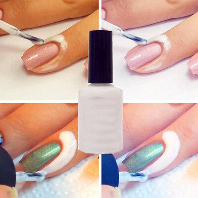1PC Easy Clean Base Gel Peel Off Liquid Nail Art Tape Latex Tape Palisade 15ml
