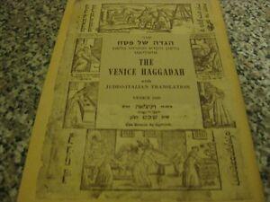 1609-Venice-Haggadah-Reprint-Fascimile-JUDEO-ITALIAN-Hagada