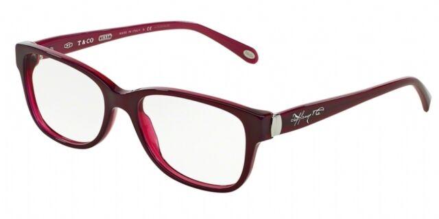 Tiffany & Co Women\'s Eyewear Frames Tf2084 55mm Pearl Plum 8173   eBay