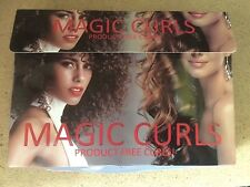 MAGIC CURLS Product Free Hair Curling BNIB as pic (8)