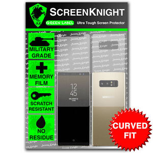 ScreenKnight Samsung Galaxy Note 8 FULL BODY Screen Protector  CURVED FIT - Warwickshire, United Kingdom - ScreenKnight Samsung Galaxy Note 8 FULL BODY Screen Protector  CURVED FIT - Warwickshire, United Kingdom