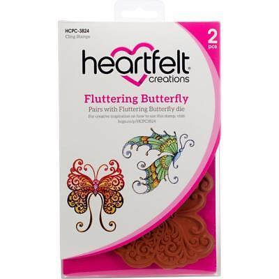 Heartfelt Creations Cut /& Emboss Dies-Fluttering Butterfly