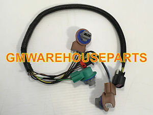 details about 2007 2014 gmc yukon yukon xl tail light wiring harness new gm 25975983  gmc tail light wiring connector #4