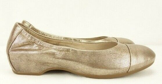 NEW DANSKO DANSKO DANSKO Linsanne Ballet Flats Women's 37 6.5-7 gold Leather shoes  145 ea0d09
