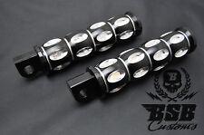 Custom Fußrasten Set für  Harley Davidson FXB FLSB Breakout CVO Softail SLIM