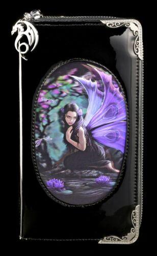 Fantasy Geldbeutel Elfe Naiad Anne Stokes Lack Geldbörse mit 3D Bild