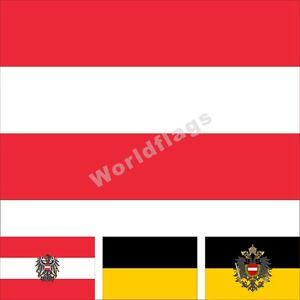 austria flag 3x5ft historical habsburg monarchy war royal empire