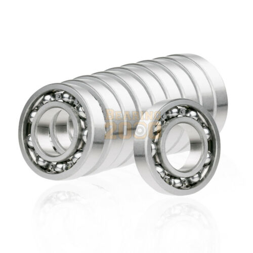 10x 606-OPEN Ball Bearing 6mm x 17mm x6mm Premium Open Deep Groove Free Shipping