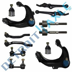 1999-2003-Acura-CL-TL-Front-Control-Arm-Ball-Joint-TieRod-Sway-Bar-Link-Kit-12pc