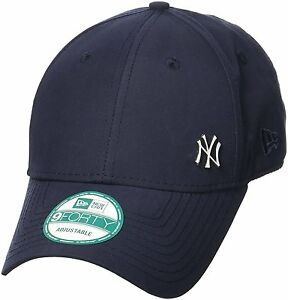 b4f07fcb7e3 NEW ERA MEN 9FORTY BASEBALL CAP.NEW YORK YANKEES FLAWLESS NAVY ...