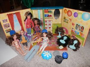 LIV-doll-spin-master-my-room-foldout-carry-case-DOLLS-WIGS-CLOTHES-SHOES-LOT