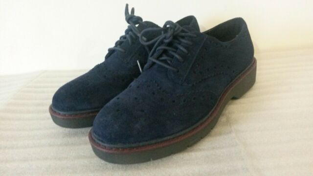 Clarks Candra Light - Navy Suede Womens
