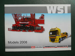 WSI-CATALOGUE-2008-FORMAT-21-X-14-8-cm-VERY-RARE
