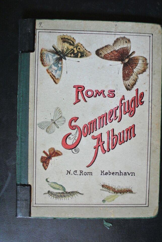 roms sommerfugle-album, emne: dyr