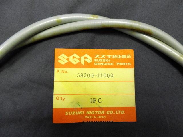 CLUTCH CABLE SUZUKI 250cc T20 TC250  NOS GENUINE JAPAN P//N 58200-11000