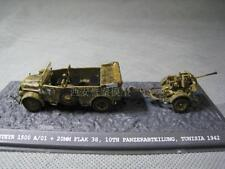 WARMASTER 1/72 WWII German steyr heavy-duty jeep 20mm Flak38 anti-aircraft guns