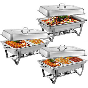 Multi-Stainless-Steel-Chafing-Dish-Bain-Marie-Bow-Catering-Dish-Hotpot-Server