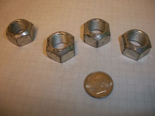 1//2-20 152349 Chrysler shackle bolt nuts no bolt included. Set of four.