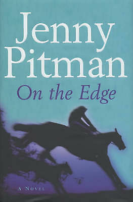 """""""AS NEW"""" On the Edge, Pitman, Jenny, Book"""