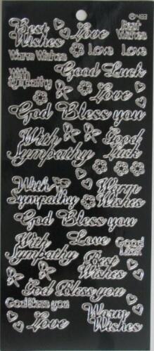 Kelly Outline Sticker-Warm Wishes