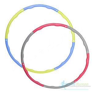 more mile gewichtet gepolstert hoola hula hoop fitness abs bungen training ebay. Black Bedroom Furniture Sets. Home Design Ideas