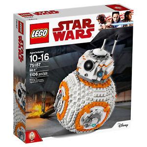 Nouveau kit de construction pour robot Lego Star Wars Bb8 75187 (1106 pièces) 673419267601