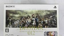 PSP Final Fantasy Dissidia 012 Console System Japan *COMPLETE - GREAT COND* SALE