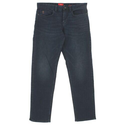 S OLIVER Herren Jeans Hose SCUBE Straight Stretch inkblue blau 20505