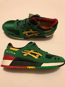 huge selection of d14a0 96117 Details about Asics Tiger Gel Lyte III 3 Green Yellow H514N-8404 Men's SIZE  7.5