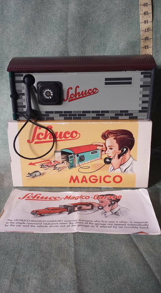 Schuco Magico 500 Garage Blech 50er Jahre N-MIB OVP altes Original 1311-01-36