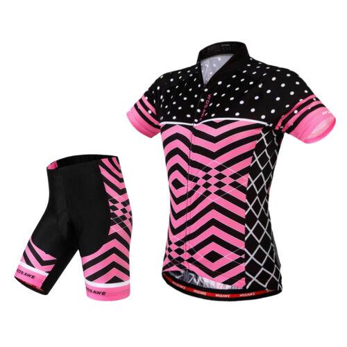 XL PICK Cycling Jerseys Women`s Mountain Bike Bicycle Shirt Tops with Shorts S