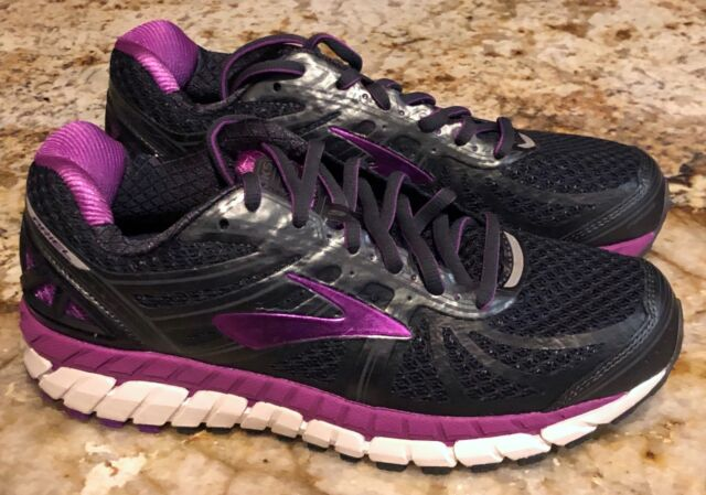 Anthracite Purple Running Shoes