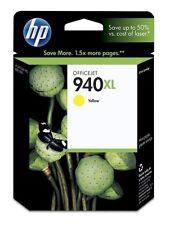 HP original 940XL gelb yellow C4909A OfficeJet Office Jet Pro 8000 8500 12/2015