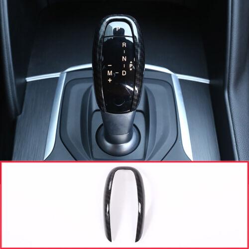 Kohlefaser-Stil Gangschaltung Kopf Abdeckung Für Alfa Romeo Giulia Stelvio 2017