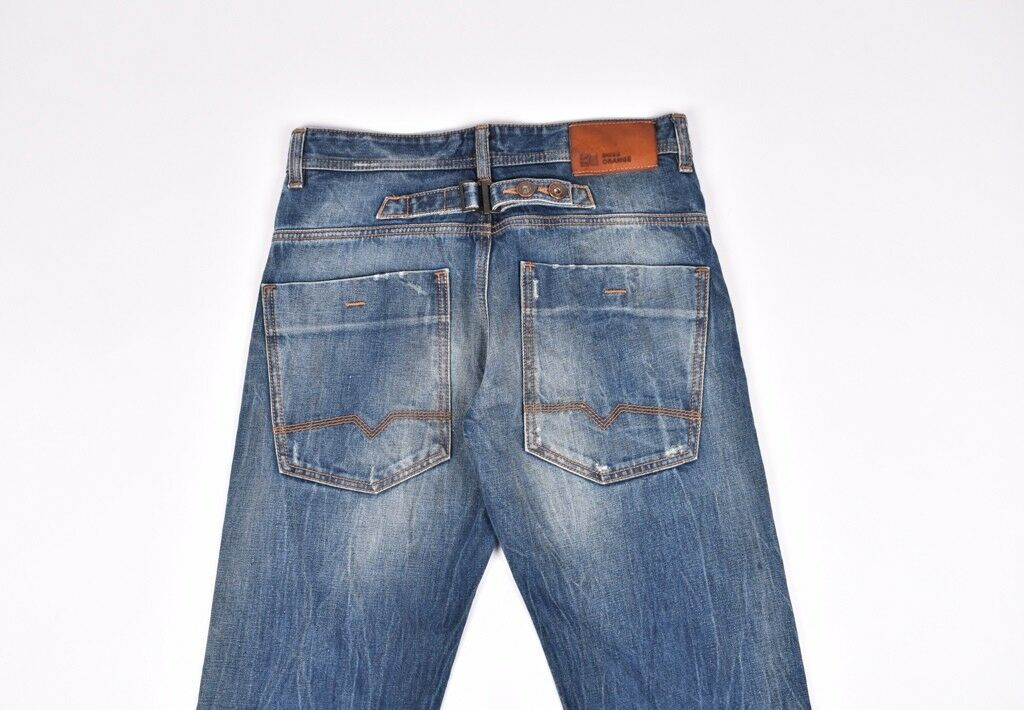 Hugo Boss Monitort orange29 Men Jeans Size 29 34, Genuine