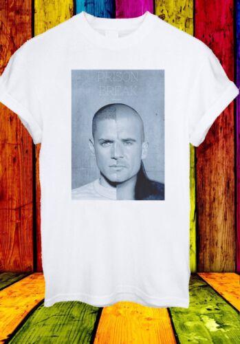Prison Break Michael Scofield Lincoln Face Series Men Women Unisex T-shirt 573