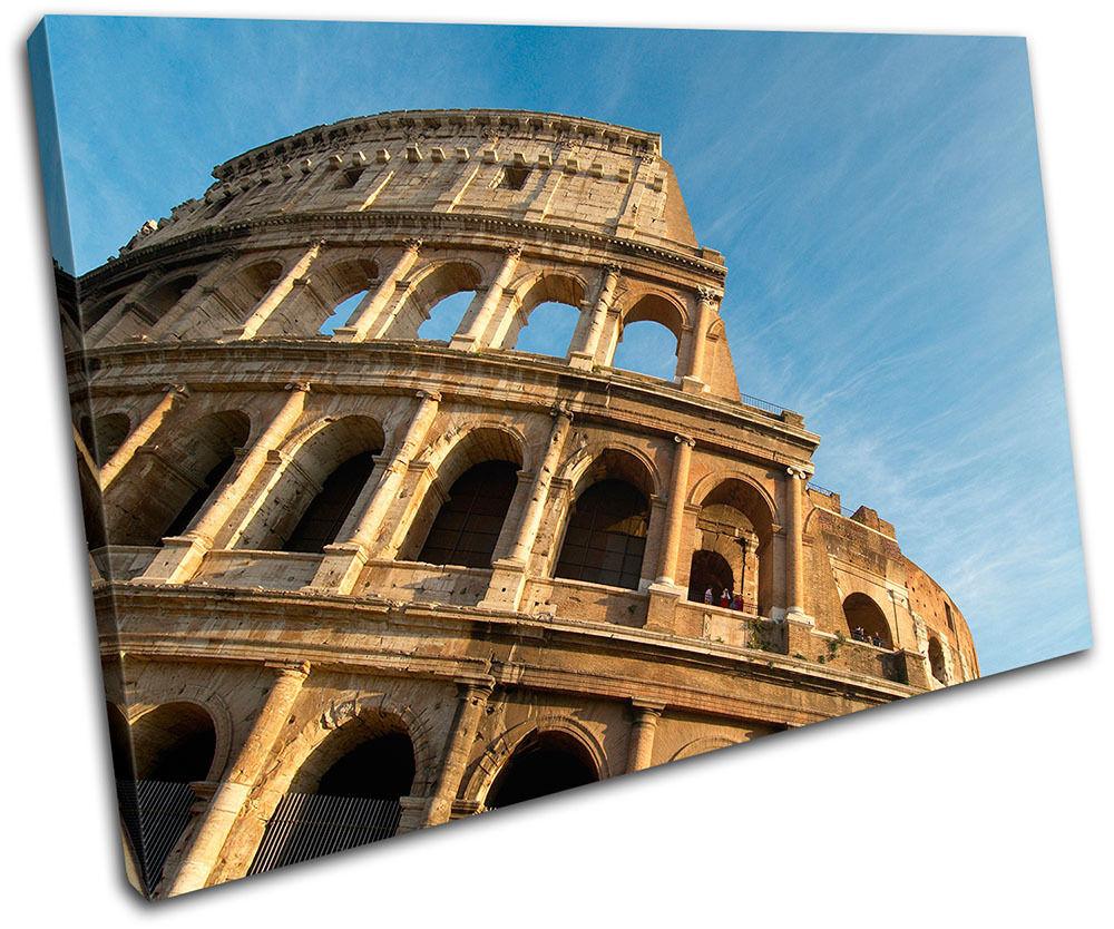 Coliseum LONA Rome Landmarks SINGLE LONA Coliseum pa rojo  arte Foto impresion d7ff2f