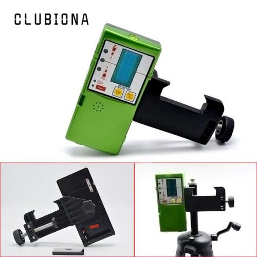 CLUBIONA Laser Receiver Detector Laserometer Pulse For GREEN Line Laser Level