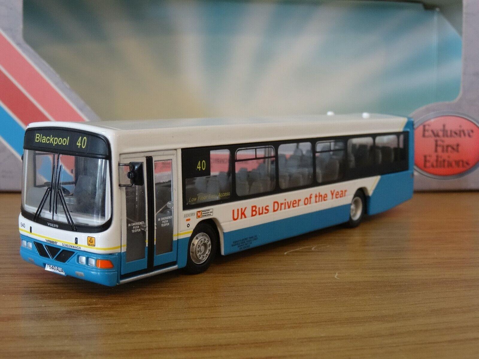 Efe Reino Unido chofer de autobús del año 2006 Wright renombre VOLVO Bus Modelo 27612A 1 76