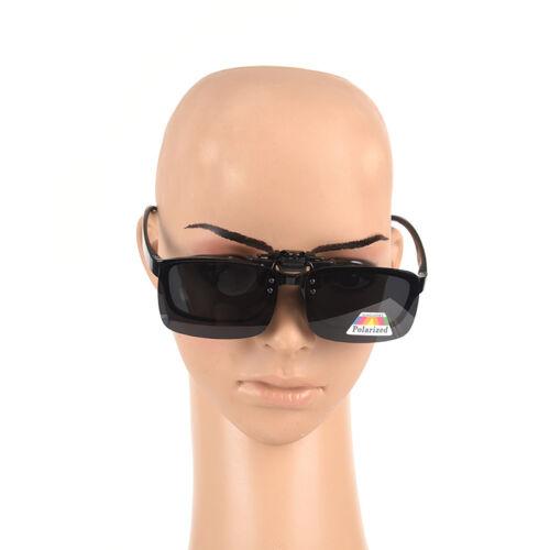Polarized Clip On Sunglasses Driving Day Night Visions for Myopia Glasses.Sha/>v