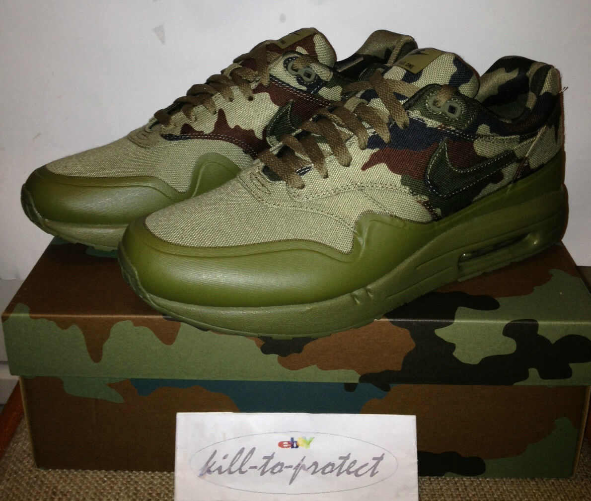 NIKE AIR MAX one 1 FRANCE COUNTRY CAMO PACK Italy SP US UK7 8 9 10 11 607473-200