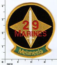 USMC 29th Marine Regiment PATCH inactive 29th Marines Regt WWII Vets ! Melanesia