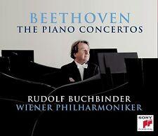 BUCHBINDER/WIENER PHILHARMONIKER - BEETHOVEN: KLAVIERKONZERTE 3 CD KLASSIK NEU
