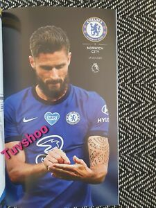 Chelsea-v-Norwich-City-LIMITED-COLLECTOR-039-S-EDITION-RESTART-Programme-14-7-2020