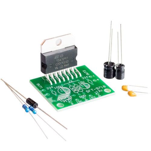Microphone Amp 15 W Stereo Aduio Amplifier Board MP3 Decoder 12V TDA7297 15W