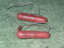 Vintage Radio/Television. 2 - LEMCO 13 PFD,12KVT Capacitors.  NOS.