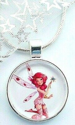 MIA AND ME SILVER  NECKLACE 16 INCH FAIRY PRINCESS GIFT BOXED BIRTHDAY PARTY