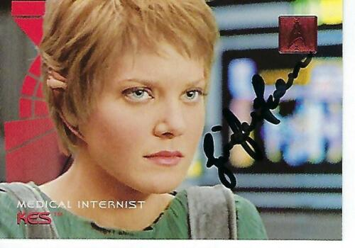 JENNIFER LIEN SIGNED 1996 STAR TREK $190 KES